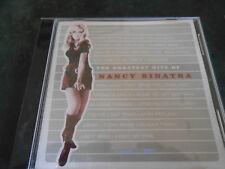 CD Nancy Sinatra Greatest Hits