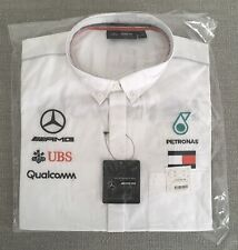 Bnwt Mercedes AMG Petronas Tommy F1 White Short Sleeve Team Shirt XXL