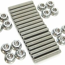 BBC HEADER STUD KIT BOLTS STAINLESS STEEL 396 402 427 454 502 BIG BLOCK CHEVY
