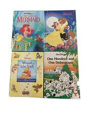 Vintage 4 Book Lot Disney Twin Books ~ Mouse Works Books Hard Cover-See Descript