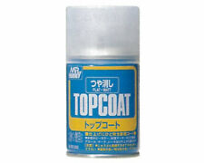 Mr.Hobby B503 Mr.Topcoat Flat Spray coprente opaco (86ml) modellismo