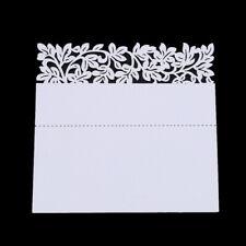 Table Place Name Cards Laser Cut Crown Shaped Wedding Party Favor Decor LP
