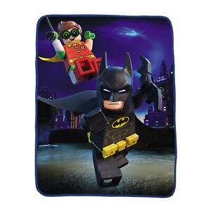 "Lego Batman Plush Throw Blanket 46"" x 60"""