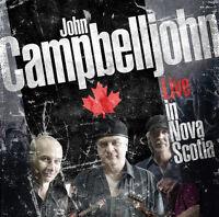 Blues Rock CD John Campbelljohn Band Live In Nova Scotia 2CDs