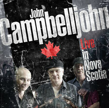 Blues Rock CD John Campbelljohn Banda Vivo En Nueva Escocia 2CDs