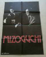 Cinema Plakat Hommahe Regisseur Japanische Mizoguchi End Annees 70