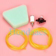 Fuel Line Filter Air Filter Kit Fits Poulan Craftsman Chainsaw Parts # 530037793