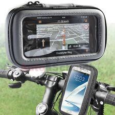 Motorrad Fahrrad Biker Set Bike Lenker Tasche Halterung für Samsung Galaxy S5 S6