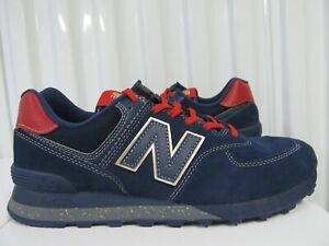 New Balance 574 INSPIRE THE DREAM BLACK HISTORY MONTH Kawhi Leonard 9.5 BlueGold
