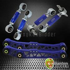 BLUE LOWER CONTROL ARM + REAR CAMBER KIT + TOE ARM KIT CRX 88-91 DEL SOL 93-97