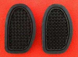 Hillman Minx mark 3 4 5 6 7 + 8 1950s new pair Brake Clutch Pedal Rubber Pads