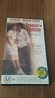 FRANKIE & JOHNNY - AL PACINO, MICHELLE PFEIFFER VHS VIDEO