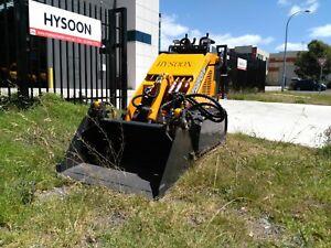 Hysoon 4 in 1 Bucket 850mm width suits mini diggers & mini loaders