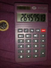 Boots H20 8 Digit Calculator Dual fuel - Solar + Battery