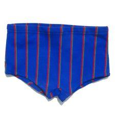 Authentique vintage Short enfant - Bleu  - Rislan - Maillot Bain - Taille 14Ans