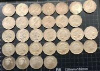 AUSTRALIAN 1969 - 2018 50 CENT COIN YEARS SET TOTAL 31 COINS VF - UNC