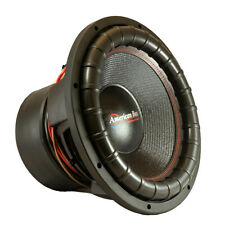 American Bass GF1522 Godfather Dual 2 Ohm Voice Coil, 3000 Watts RMS/6000 Watts