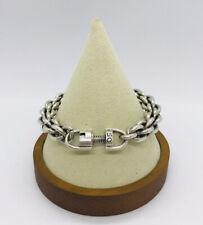 "Cool Uno De 50 Silver Chain Link SIN PEDALES Unisex Men Women Bracelet 8.5"""