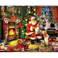 Christmas Gifts Festival Decors Full Drill 5D Santa Claus Diamond Painting Kits