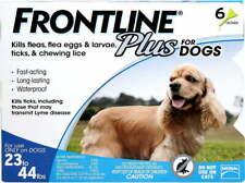 Frontline Plus Flea & Tick Treatment for Medium Dogs 23-44 lbs 6 Doses New
