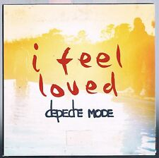DEPECHE MODE I FEEL LOVED CD SINGOLO SINGLE cds 3 TRACKS DIGIPACK