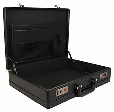 New High Quality Black Business Briefcase Executive Laptop Work Attache Case Bag