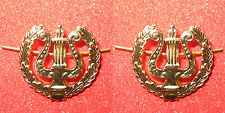 Russian forces musical troops Emblem lapel-tab