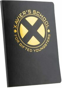 FUNKO MARVEL COLLECTOR CORPS X-MEN XAVIER'S SCHOOL LOGO NOTEBOOK JOURNAL