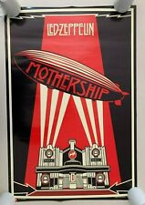 LED ZEPPELIN,'MOTHERSHIP'  AUTHENTIC LICENSED 2007 POSTER