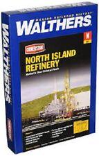 N. Island Refinery Kit - N Scale