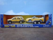 Show Stoppers Hot Haulers & Cool Cars- 1:24 scale by Maisto #32907