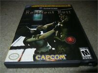 RESIDENT EVIL NINTENDO GAMECUBE GAME W/ CASE PLAYER'S CHOICE
