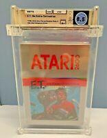 E.T. the Extra-Terrestrial  Atari 2600 - WATA GRADED 8.5 A+   BRAND NEW SEALED