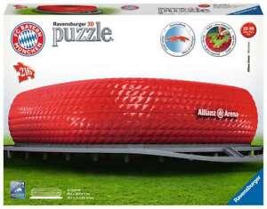 Ravensburger 125265 FC Bayern München - Allianz Arena 3D Puzzle 10-99 Jahre
