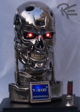 Terminator T-800 Endoskeleton Clean Version 1:2 Scale Endoskull Bust Replica New