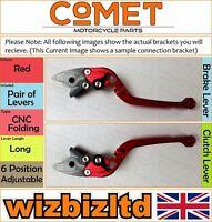 Ducati Gt 1000 2006-2010 [Pliable Long Rouge ] [ Comet Réglable Course Levier]