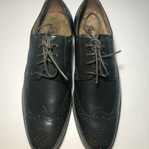 Florsheim Matera II Wing 11878-020 Mens Dark Gray Dress Lace Up Oxfords Shoes