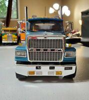 1/24 Italeri LTL9000 Ford Heavy Hauler Day Cab Straight Pipes Built Junkyard