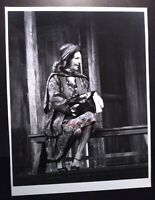 8X10 BW PHOTOGRAPH SIGNED BY GERALDINE PAGE.  LIFETIME COA. BROADWAY STAR.