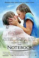 "The Notebook (2004) Movie Poster New 24""x36"" Ryan Gosling, Rachel McAdams"