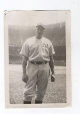 Mike Garbark original candid snapshot photograph New York Yankees 1945
