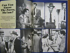1968 TV Guide(DRAGNET/DANIEL BOONE/LINDA CRISTAL/FESS  PARKER/GODFREY CAMBRIDGE)