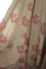 Art Deco Vintage French cotton faded floral cotton ground material c1920