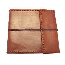 Fair Trade Handmade Stitched Large Leather Photo Album Scrapbook
