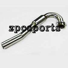 New Stainless Bomb Exhaust Head Pipe Header Kawasaki KLX-250 S/SF 06-12 10 09 08