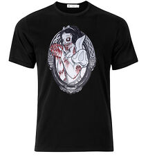 Snow White Zombie II- Graphic Cotton T Shirt Short & Long Sleeve