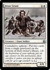 JOTUN GRUNT Commander 2011 MTG White Creature — Giant Soldier Unc
