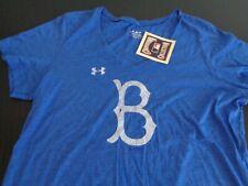 BROOKLYN Los Angeles DODGERS Baseball UNDER ARMOUR Women's XXL Cooperstown Shirt