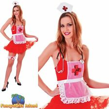 SEXY NURSE SET ONLY ROLEPLAY COSPLAY UK 10-14 Womens Ladies Fancy Dress Costume