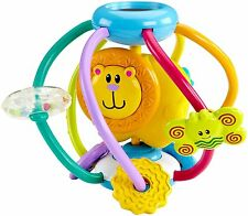 Fisher-Price Growing Baby Shake & Rattle Bead Ball New